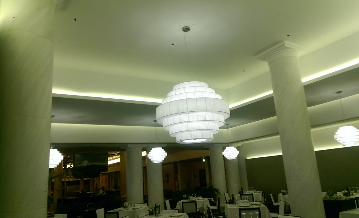 Iluminación Comedor Casino Marbella