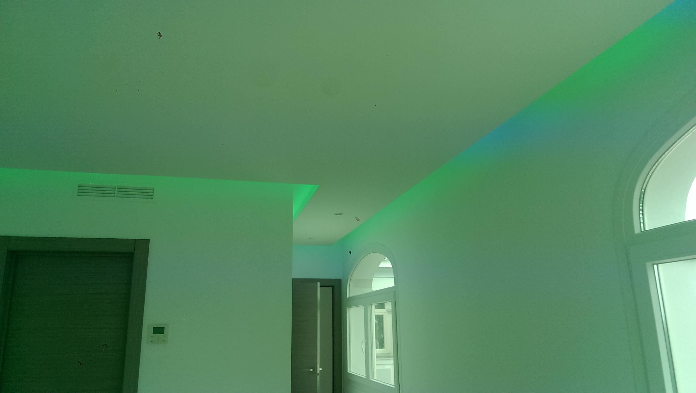 Iluminación RGB y diseño (Sotogrande)